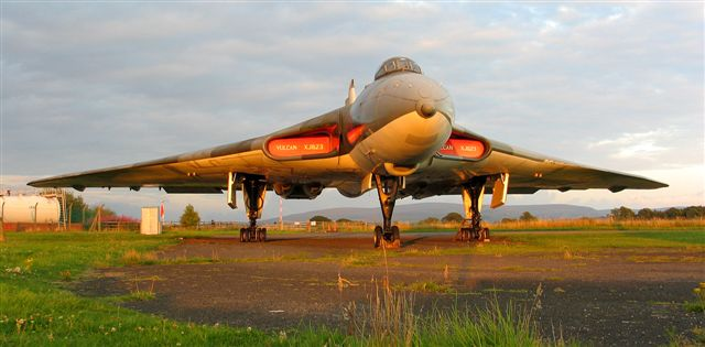 Solway Aviation Museum - Avro Vulcan XJ823.